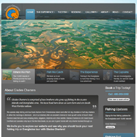 Everglades Fishing Charters Website