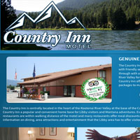 Country Inn Motel in Libby, Montana